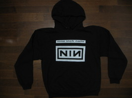NINE INCH NAILS / Logo And Group /  Two Sided Print -Unisex  Hoodie. Bra... - $29.99+