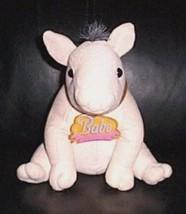 "Babe the Sheep Pig Universal Studios 7"" Plush with Acrylic Name Tag Soft Collar  - $7.29"