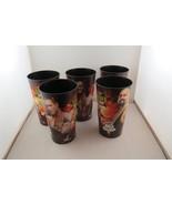 Summer Slam 2010 Big Gulp Cups - Set of 5 Complete Set - WWE/ 7 -11 Prom... - $45.00
