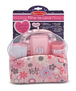 Melissa & Doug Mine to Love Doll Diaper Changing Set With Bag, Wipes, Ac... - $15.00