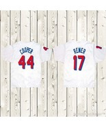 BASEketball Beers Movie 1998 Baseball Jersey #44 Cooper #17 Remer Stitch... - $36.49