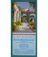 INK BLOTTER AD 1942 - Rivard Sales Co. Kansas City MO & View San Juan Mi... - $4.49