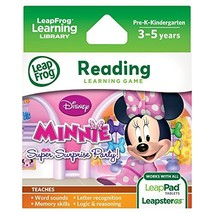 LeapFrog Explorer Game: Disney Minnie Mouse Bow-tique Super Surprise Par... - $20.00