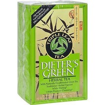 Triple Leaf Tea Dieters Decaffeinated Green Tea... - $25.20