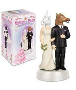 Unicorn and Horse Bride & Groom Unique Wedding ... - $14.01