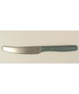 "Ikea Tinga-Green Stainless Steel and Plastic Handle Knife 9"" Long - $12.00"
