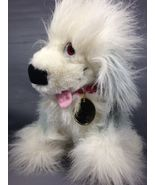 "Macys Exclusive English Gray Sheep Dog MAX Disney Little Mermaid 14"" Red... - $25.00"