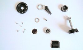 Kiev 19 FILM CAMERA USED PARTS Rewind knob, Film Lever... for Repair - $18.00
