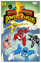 1994 Mighty Morphin Power Rangers #1 Comic Book ~ Sabans VF/NM Condition - $5.00