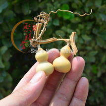 2grains/bag Mini Bottle Gourd Seeds, Original Package Novel Plant Finger,L=5-6cm image 1