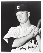 Mickey Mantle 8X10 Photo New York Yankees Ny Baseball Picture Close Up With Bat - $3.95