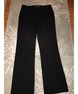Guess Co Black Stretch Straight Leg Work Pants 27 - $11.99