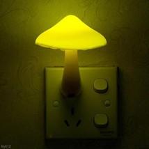 Kids's Gift Fungus Lamp LED Sensor Night Light Mushroom Lamp Energy Savi... - $1.95