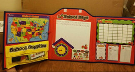 School supplies w/ learning tools kids education teachers parents map cl... - $19.79