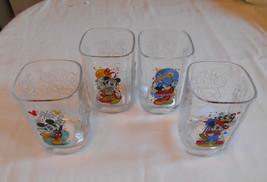 2000 McDonalds Disney World Celebration Mickey Mouse Drinking Glasses 4 Cups - $19.99