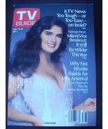 TV Guide 1799~Sept 19,1987~Brooke Shields~Miami Vice~PROMO ADS - $12.82