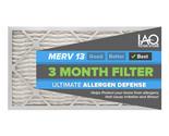 12 1/2 x 24 1/2 x 1 MERV 13 - Ultimate Allergen Reducing Pleated Air Filter 6 Pk