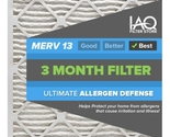 21 1/4 x 21 1/4 x 1 MERV 13 - Ultimate Allergen Reducing Pleated Air Filter 6 Pk