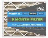 21 1/2 x 23 5/16 x 2 MERV 11 - Ultra Allergen Reducing Pleated Air Filter 6 Pk