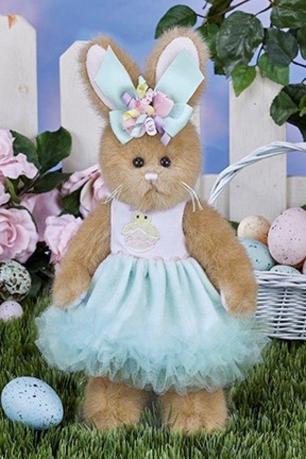"Bearington Bears ""Prissy Peeps"" 10"" Plush Bunny- #420338 - NEW- 2017 - $29.99"