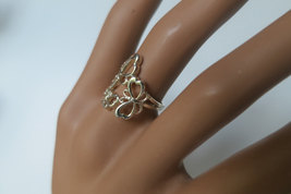 Silver butterfly ring,  92.5 sterling silver - $30.00
