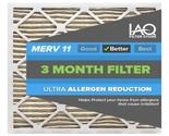 16 1/4 x 21 1/2 x 1 MERV 11 - Ultra Allergen Reducing Pleated Air Filter 6 Pk