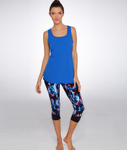 Calvin Klein Performance Active Tank Top, Radiant Blue, Medium - $22.03