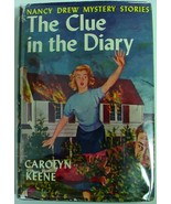 Nancy Drew The Clue in the Diary 1951A-45 Carolyn Keene original text hcdj - $150.00