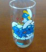 1982 Smurf Smurfette Drinking Glass - $9.99
