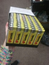 big LOT OF 50 LOVES CIGARETTE LIGHTERS BRAND NEW WORKING - $44.53
