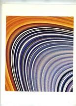 Jet Propulsion Lab NASA Voyager Mission Photo Saturn's C-Ring 1981 - $49.50