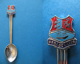 Broadstairs Kent England Souvenir Collector Spoon Collectible Great Britain - $6.95