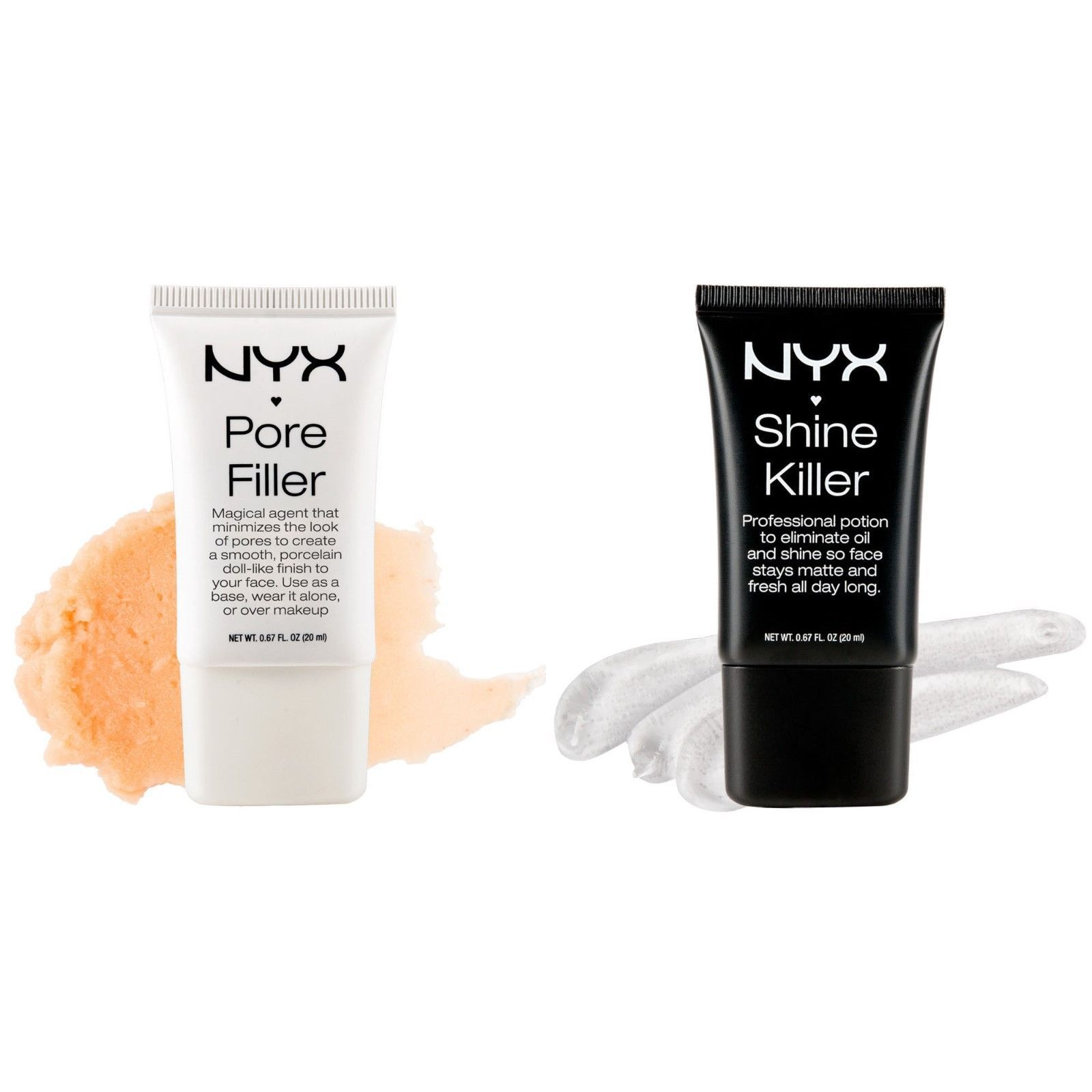 Primary image for NYX Pore Filler POF01 or Shine Killer SK01, Foundation Base or Face Primer