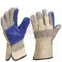 One Pair Leather Welding Protective Gloves for Electric Gas Welding - $8.99