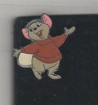 Bernard full body The Rescuers Down Under NO card German Disney Pro Pin - $24.99
