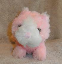 "Oriental Trading Plush Pink Kitty Kitten Cat VGC 9"" Lgth CUTE - $7.66"