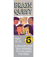 Brain Quest Grade 6, revised 4th Edition : 1500... - $11.95