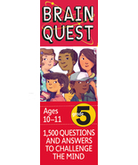 Brain Quest Grade 5, revised 4th Edition : 1500 Q & A to Challenge the Mind - $14.95