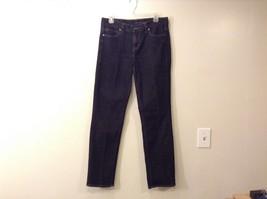 Ladies Calvin Klein Black Skinny Jeans Sz 30 10