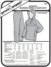 Women's Ranier Wind and Rain Suit Pants Coat Jacket #133 Sewing Pattern ... - $9.00