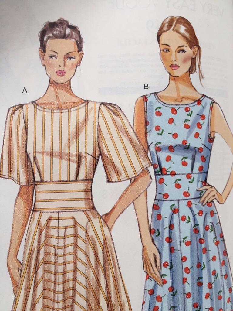 Vogue Sewing Pattern 8895 Misses Ladies Dress Size 16-24 New