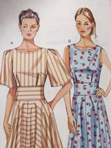 Vogue Sewing Pattern 8895 Misses Ladies Dress Size 16-24 New - $17.13