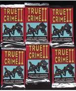 1992 ECLIPSE NEW > UNOPENED 6 PACK TRUE CRIME 2 < FOIL PACK TRADING CARDS - $8.75