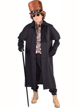 Boys Coachman / Highwayman / Steampunk Coat - $33.82