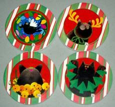 Cat Stone Coasters - $7.00
