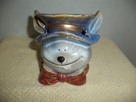 Glazed Rabbit Ceramic Candle Holder - $9.99