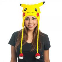 Pokemon Pikachu Laplander Hat Yellow - $20.98