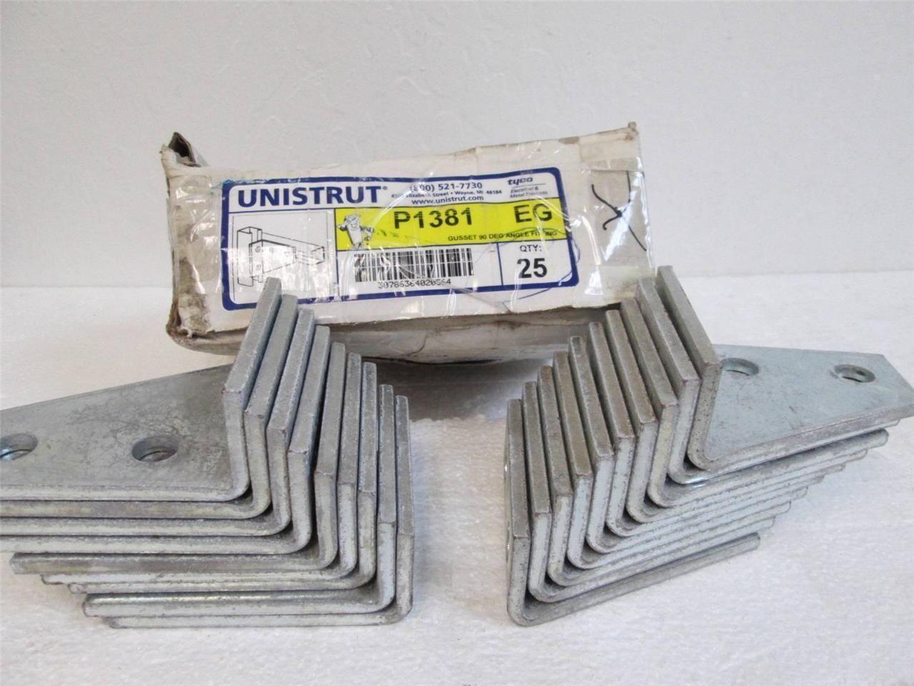 Box of 19 Tyco/Unistrut P1381 EG Gusset 90 and 50 similar items