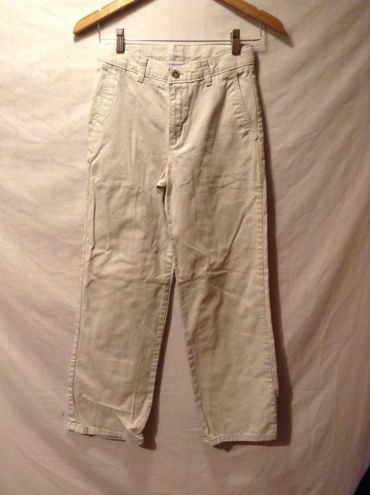 Nice pair CHAPS White Pants Sz 14R