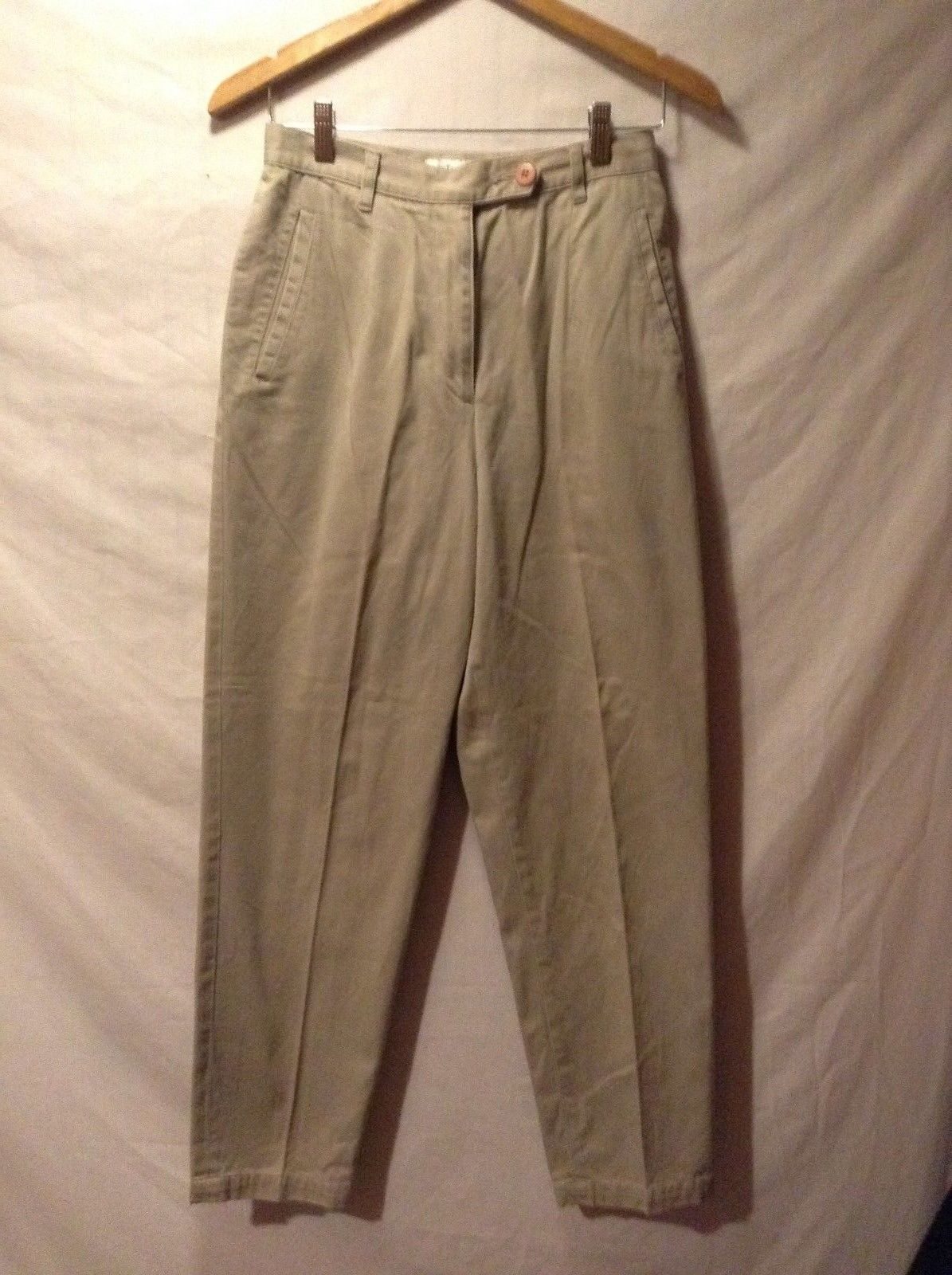 ANN TAYLOR Beige Brown Tan Pants Sz 8